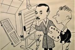 Autocaricatura-china-su-carta-28x21